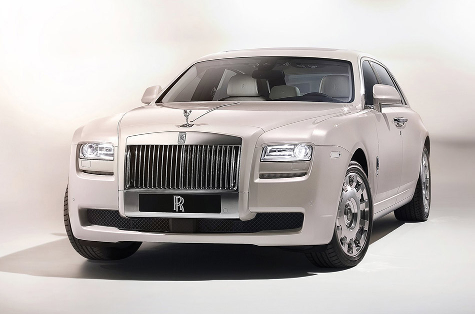 2012 Rolls-Royce Ghost Six Senses Concept Front Angle