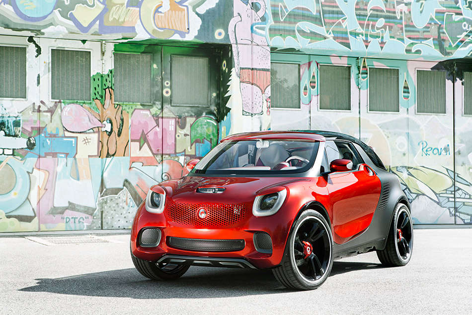 2012 Smart Forstars Concept  Front Angle