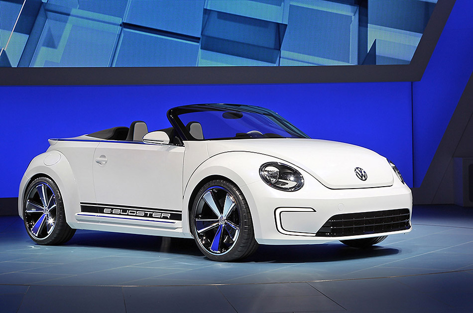2012 Volkswagen E-Bugster Steedster Concept Front Angle