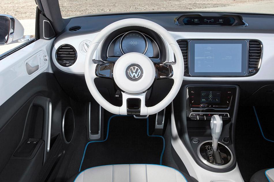 2012 Volkswagen E-Bugster Steedster Concept Interior