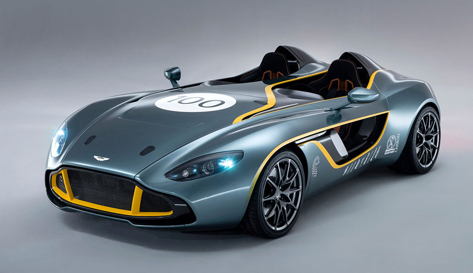 2013 Aston Martin CC100 Speedster Concept Front Angle