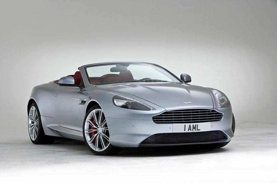 2013 Aston Martin DB9 Front Angle