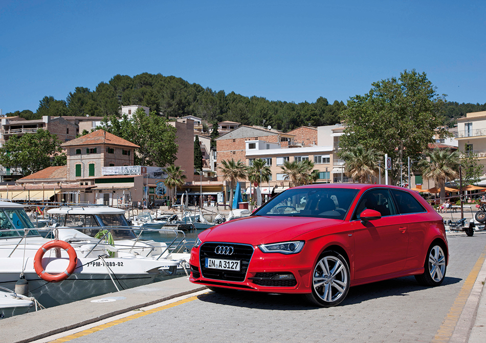 2013 Audi A3 Front Angle