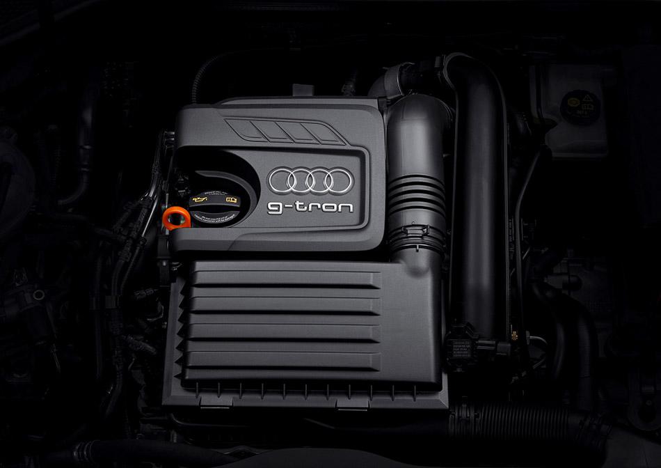 2013 Audi A3 Sportback g-tron Engine