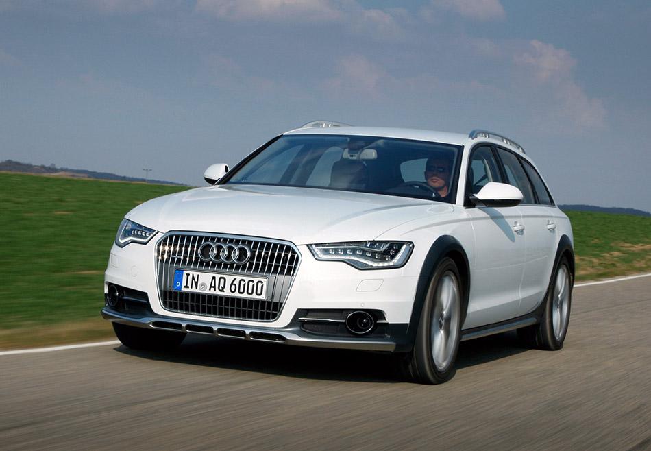2013 Audi A6 Allroad Quattro Front Angle