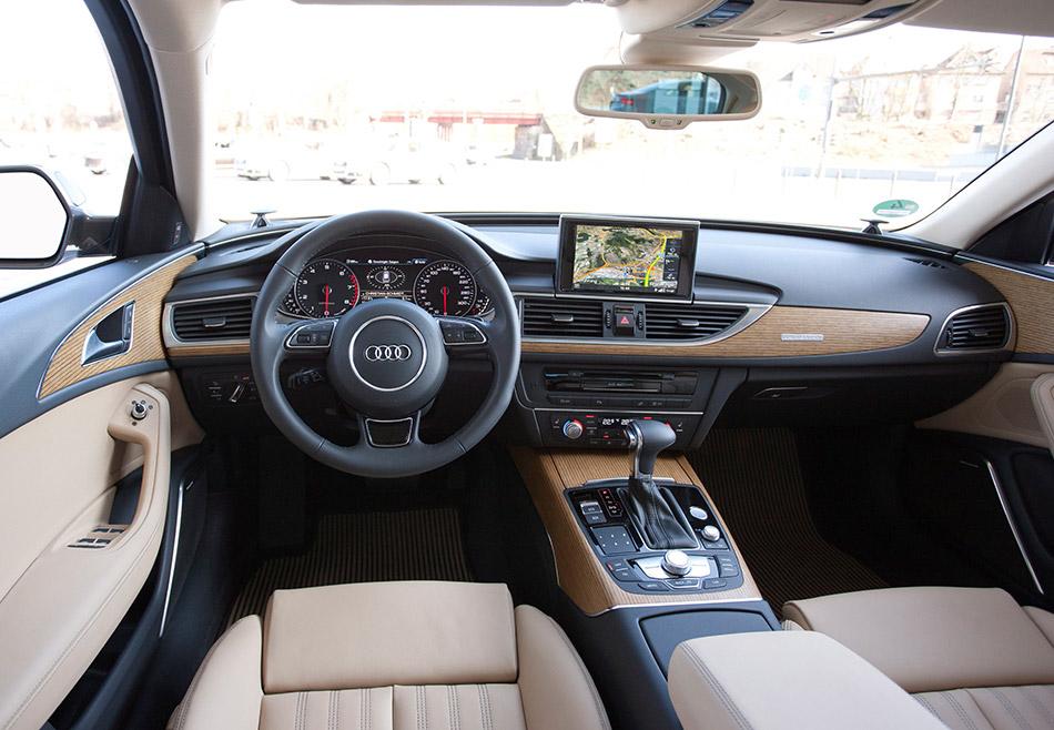 2013 Audi A6 Allroad Quattro Interior
