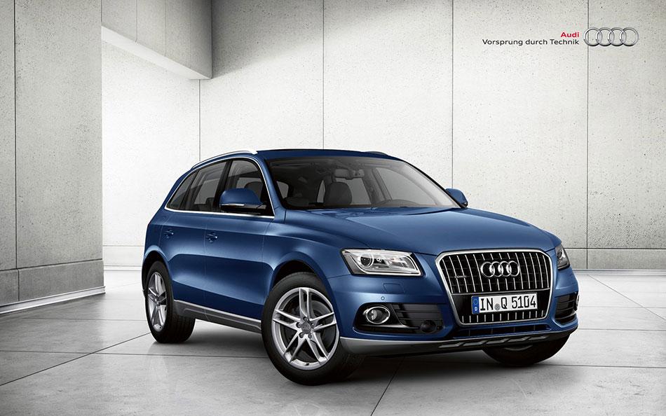 2013 Audi Q5 Front Angle