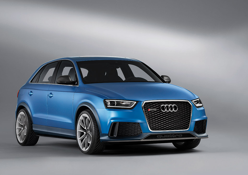 2013 Audi RS Q3 Concept Front Angle