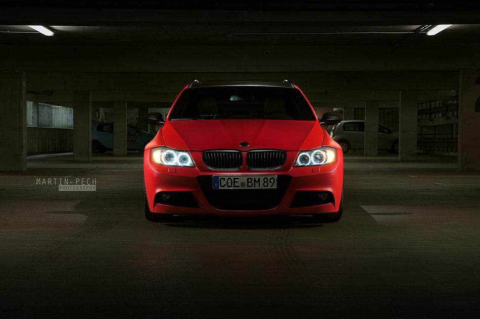 2013 BBM Motorsport BMW E91 330d Front