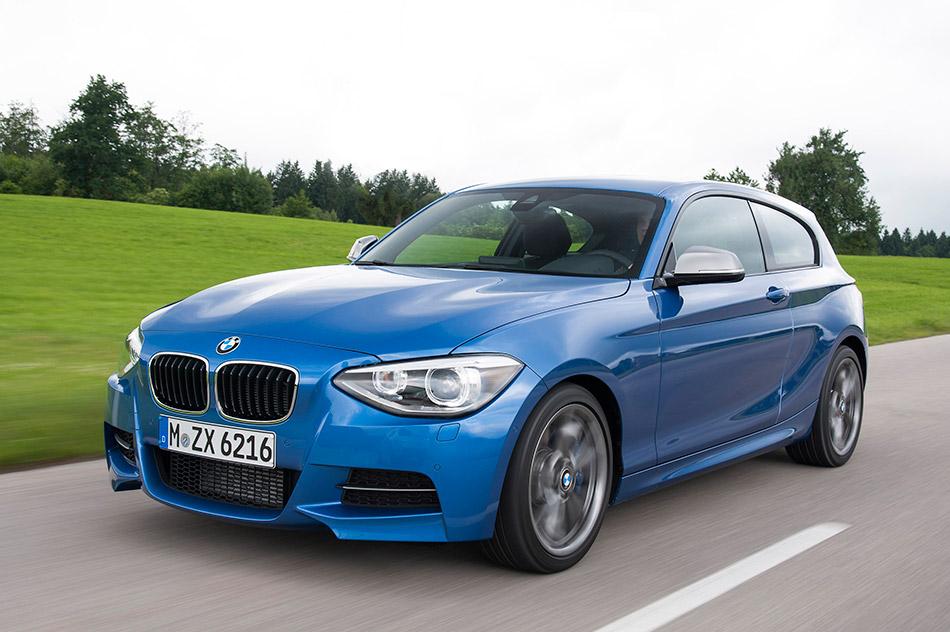 2013 BMW 1-Series 3-Door Front Angle