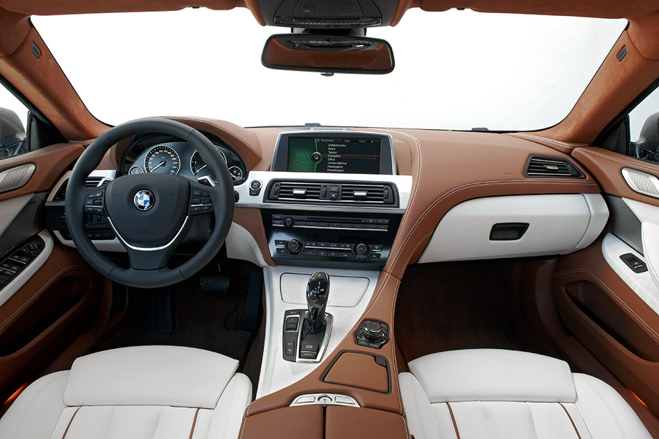 2013 BMW 6-Series Gran Coupe Interior