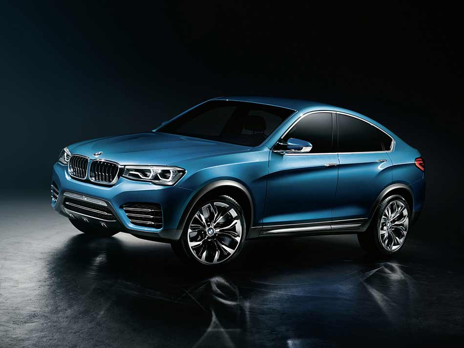 2013 BMW Concept X4 Front Angle