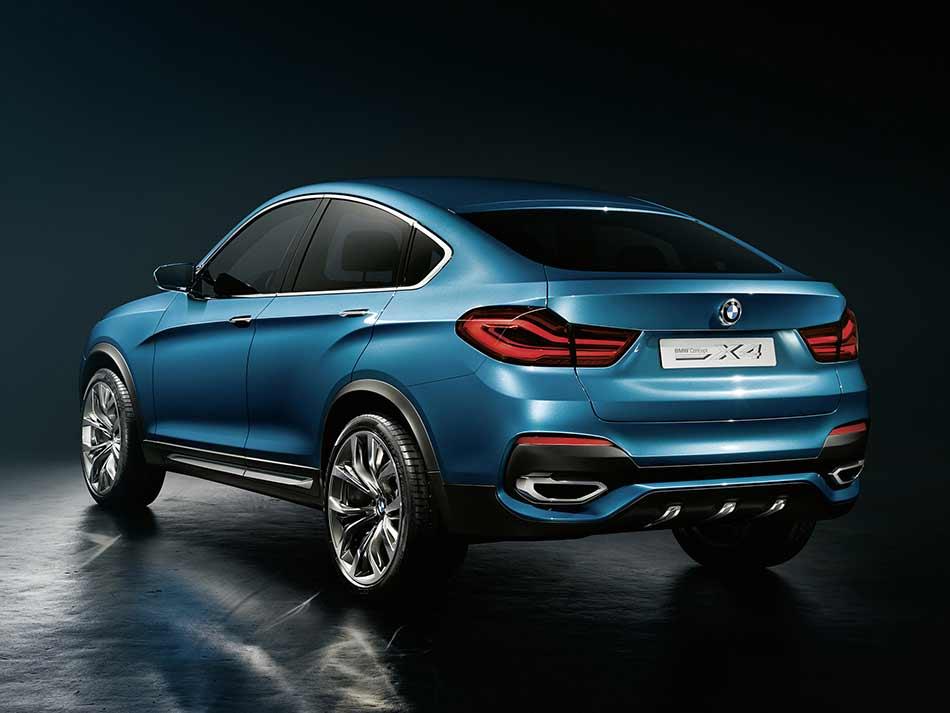 2013 BMW Concept X4 Rear Angle