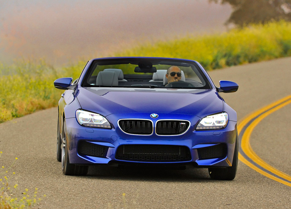 2013 BMW M6 Convertible Front