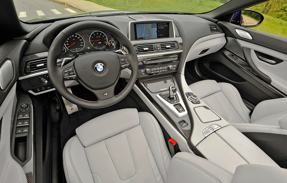2013 BMW M6 Convertible Interior