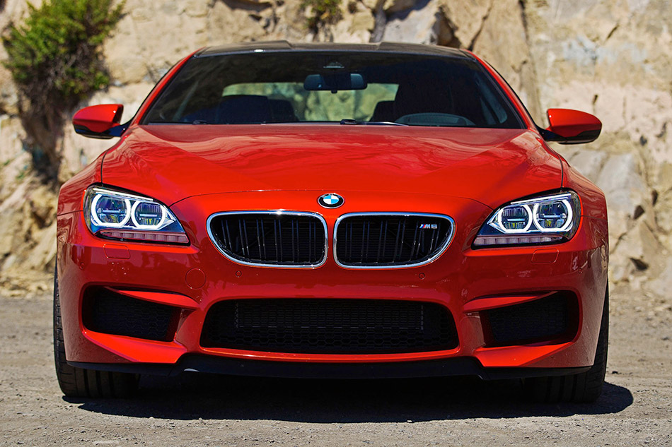 2013 BMW M6 Coupe Front