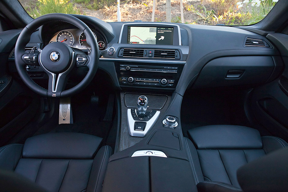 2013 BMW M6 Coupe Interior