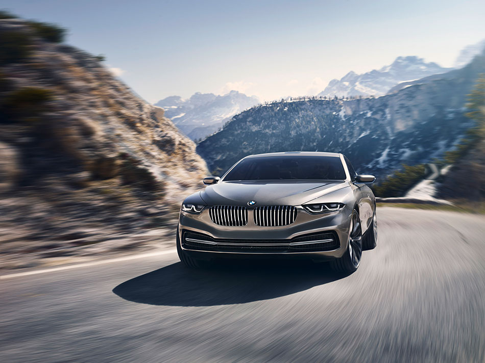 2013 BMW Pininfarina Gran Lusso Coupe Front Angle