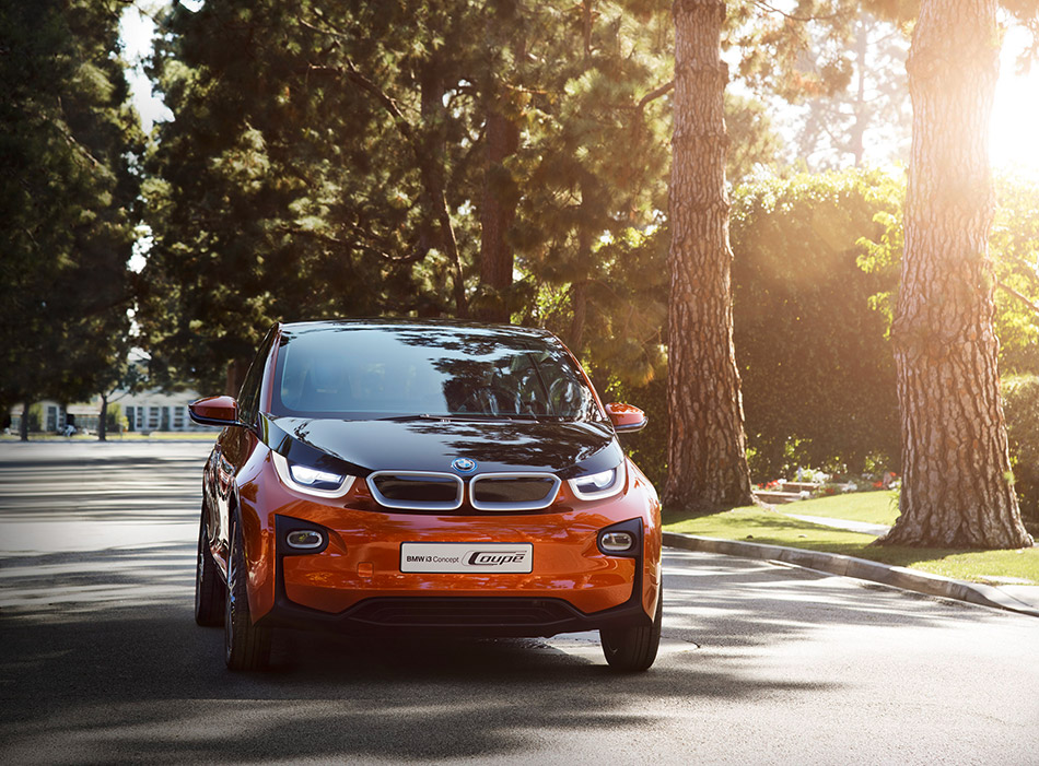 2013 BMW i3 Concept Coupe Front Angle