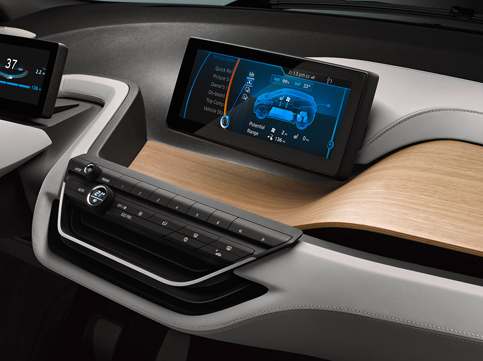 2013 BMW i3 Concept Coupe Navigation