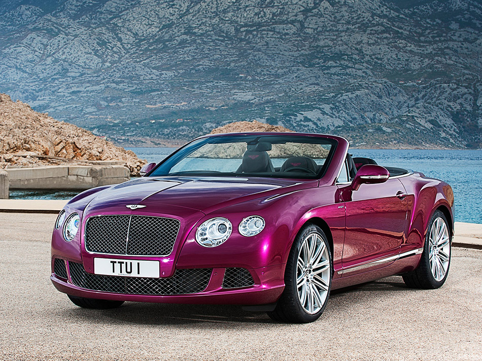 2013 Bentley Continental GT Speed Convertible Front Angle