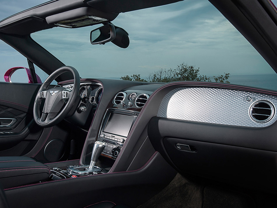 2013 Bentley Continental GT Speed Convertible Interior