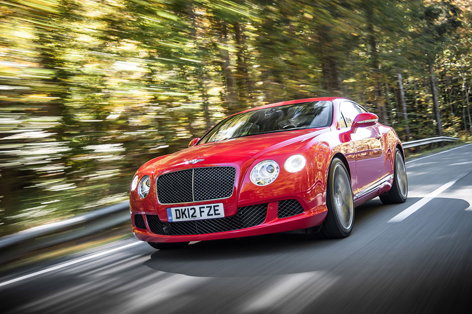 2013 Bentley Continental GT Speed Front Angle