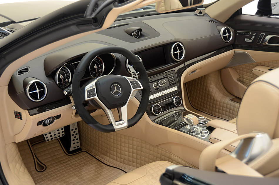 2013 Brabus 800 Roadster Interior