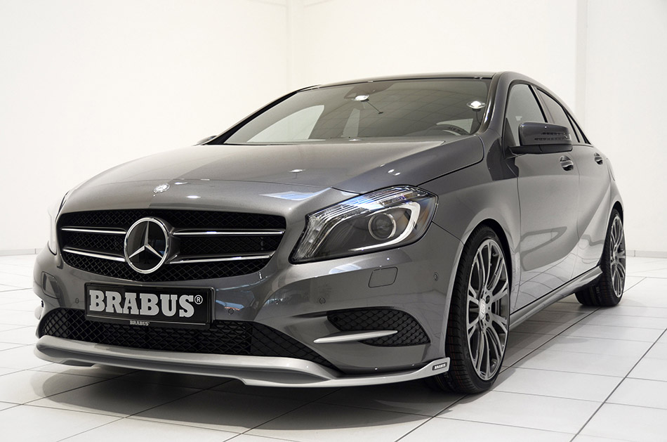 2013 Brabus Mercedes-Benz A-Class Front Angle