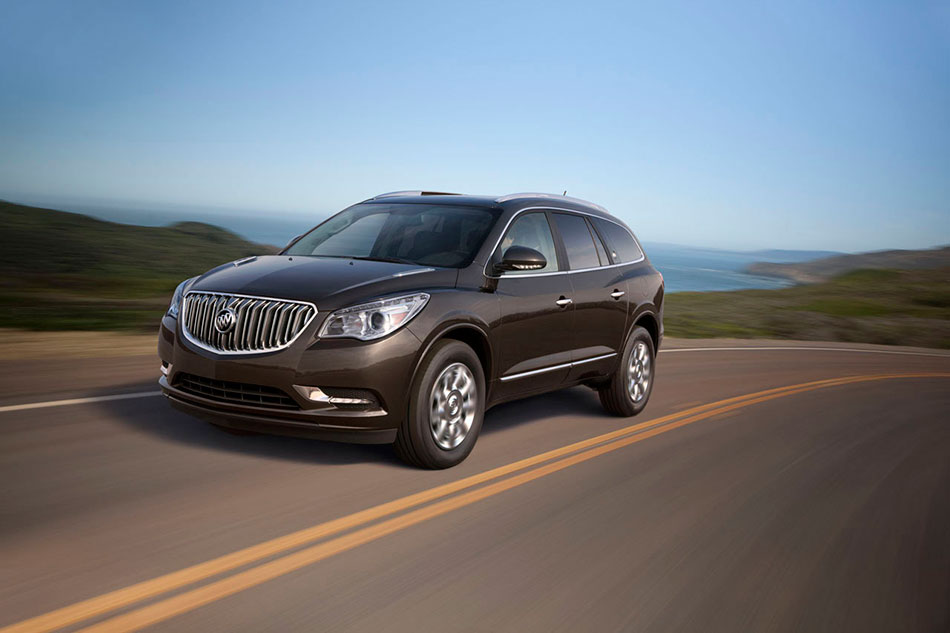 2013 Buick Enclave Front Angle