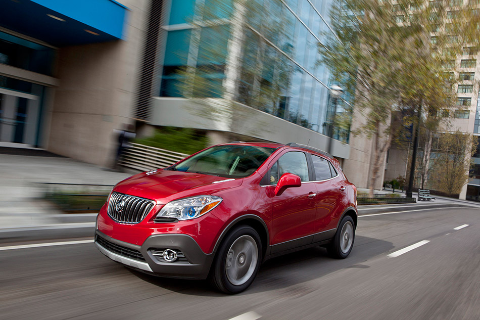 2013 Buick Encore Front Angle