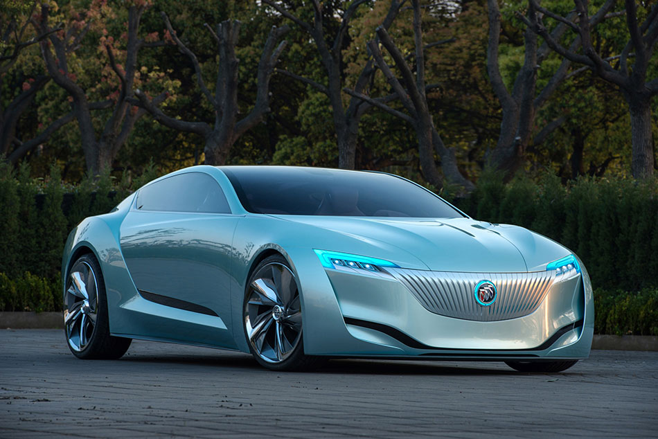 2013 Buick Riviera Concept Front Angle