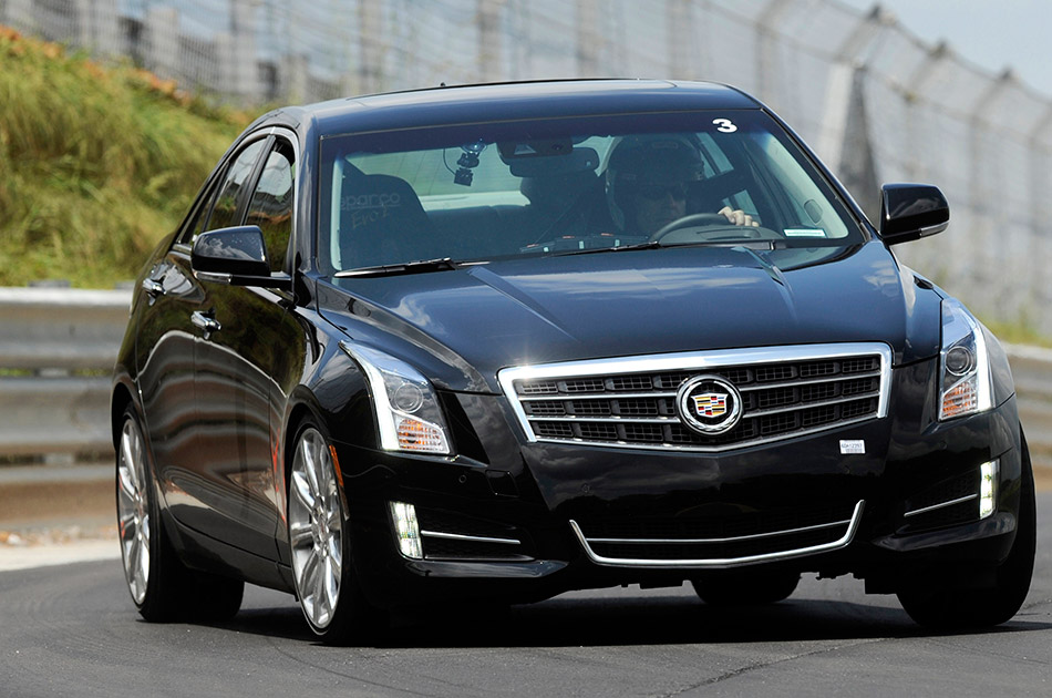 2013 Cadillac ATS Front Angle