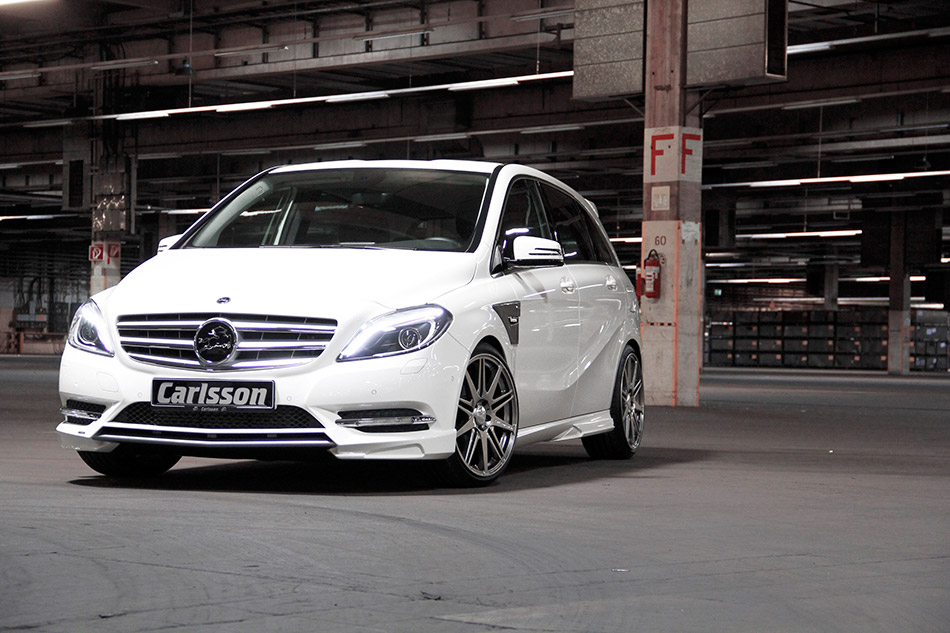2013 Carlsson Mercedes B-class Front Angle