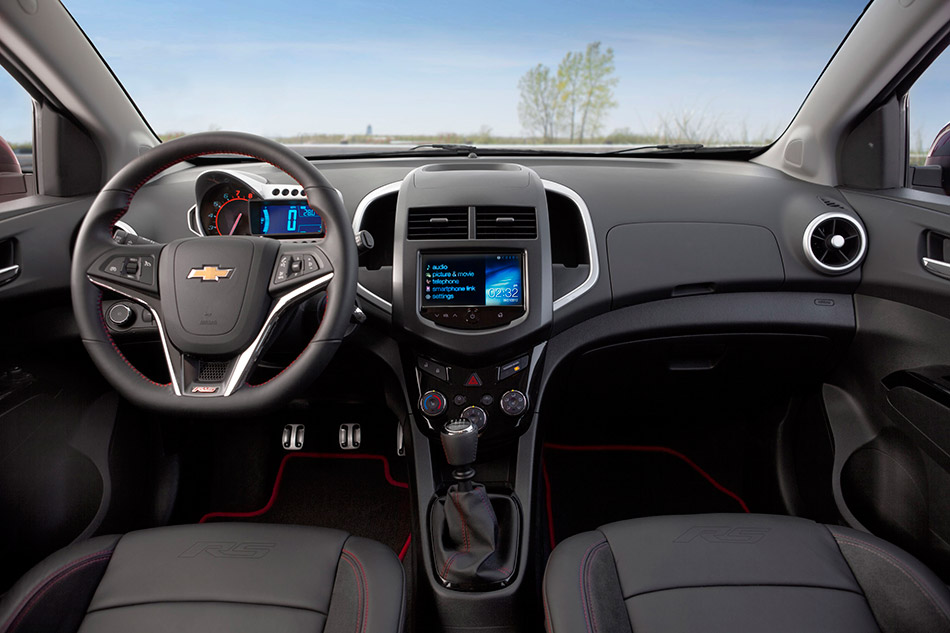 2013 Chevrolet Sonic RS Interior