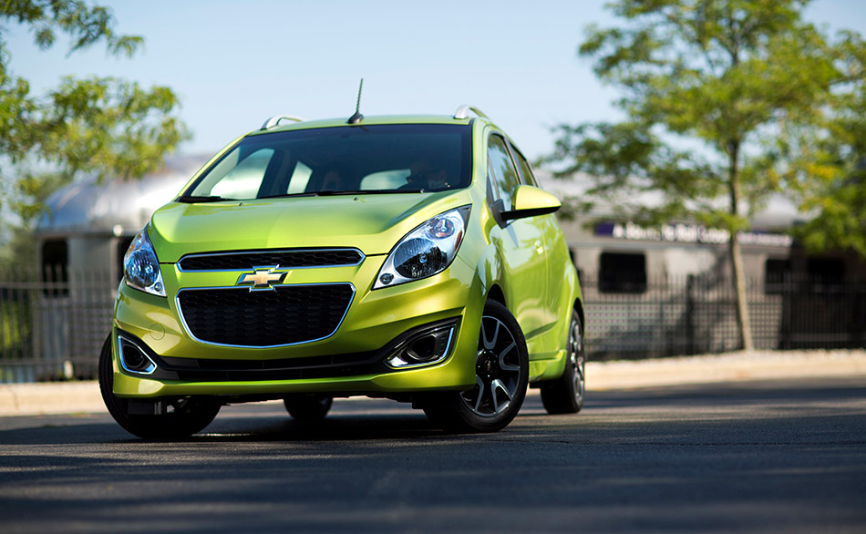2013 Chevrolet Spark Front Angle