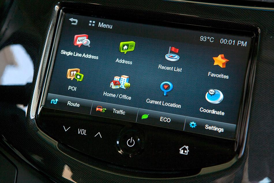2013 Chevrolet Spark Navigation