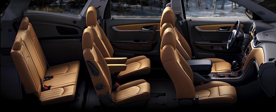 2013 Chevrolet Traverse Interior