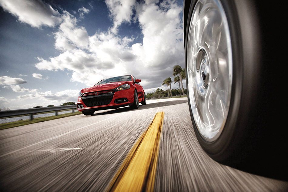 2013 Dodge Dart Front Angle