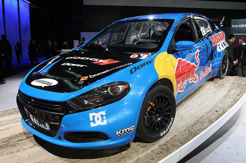 2013 Dodge Dart Rally Car Front Angle
