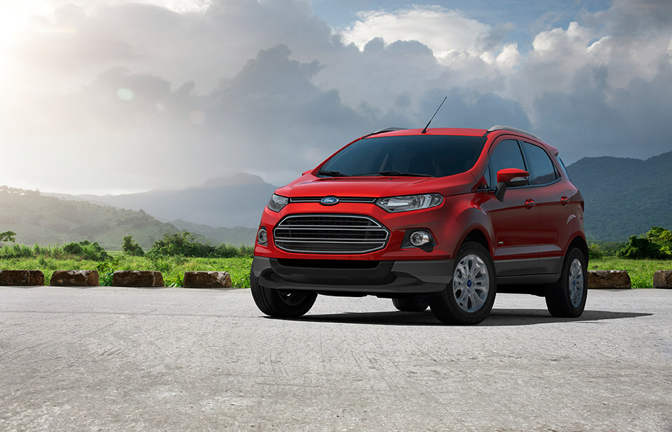 2013 Ford Ecosport Front Angle
