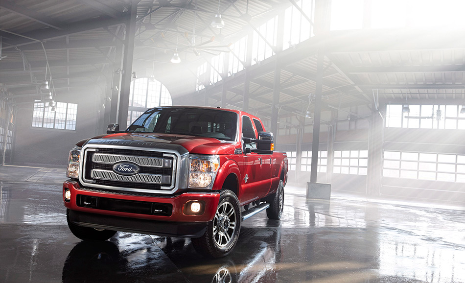2013 Ford Super Duty-Platinum Front Angle