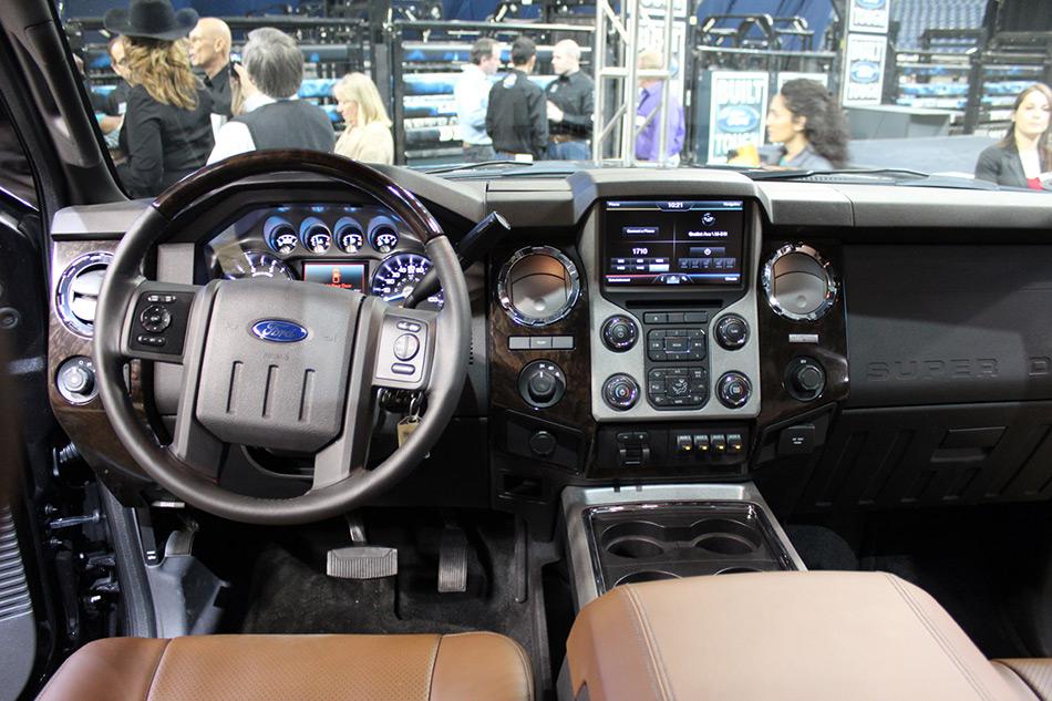 2013 Ford Super Duty-Platinum Interior