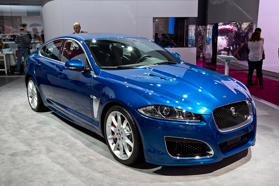 2013 Jaguar XFR Speed Pack Front Angle