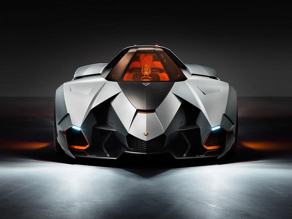2013 Lamborghini Egoista Concept Front
