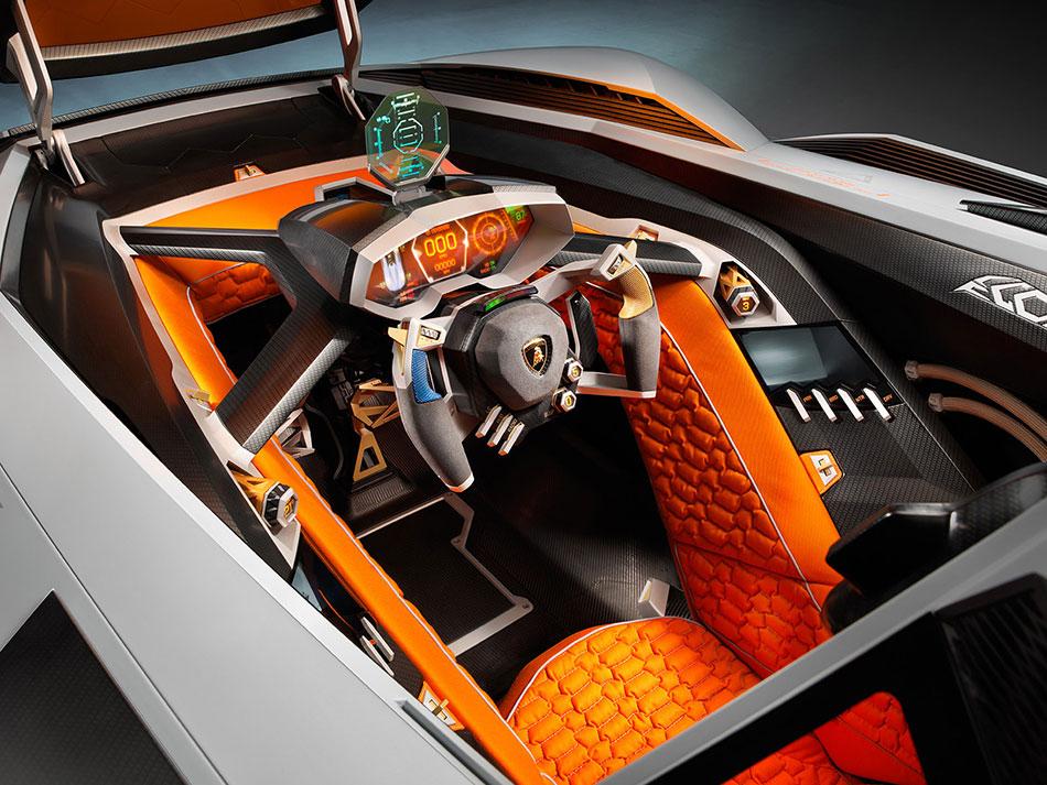 2013 Lamborghini Egoista Concept Interior