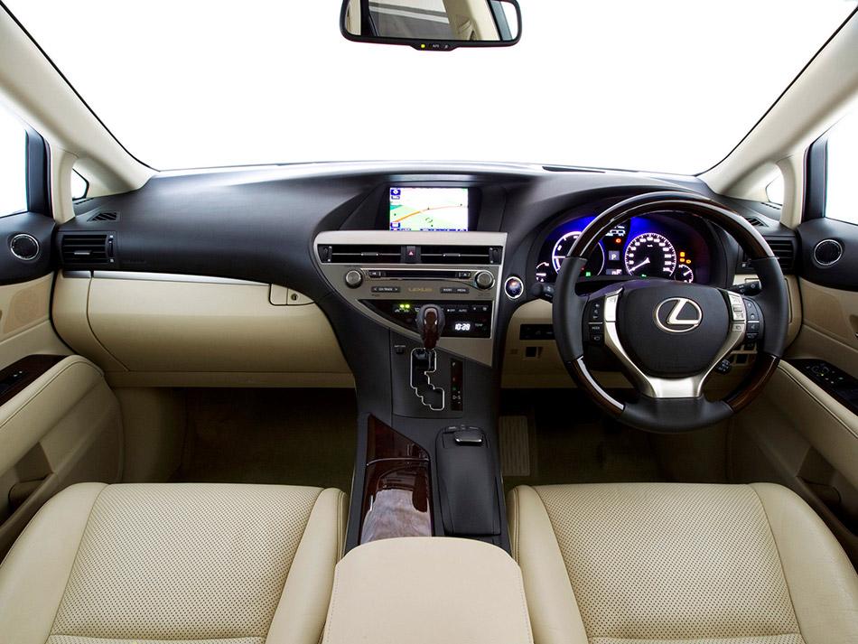 2013 Lexus RX Interior