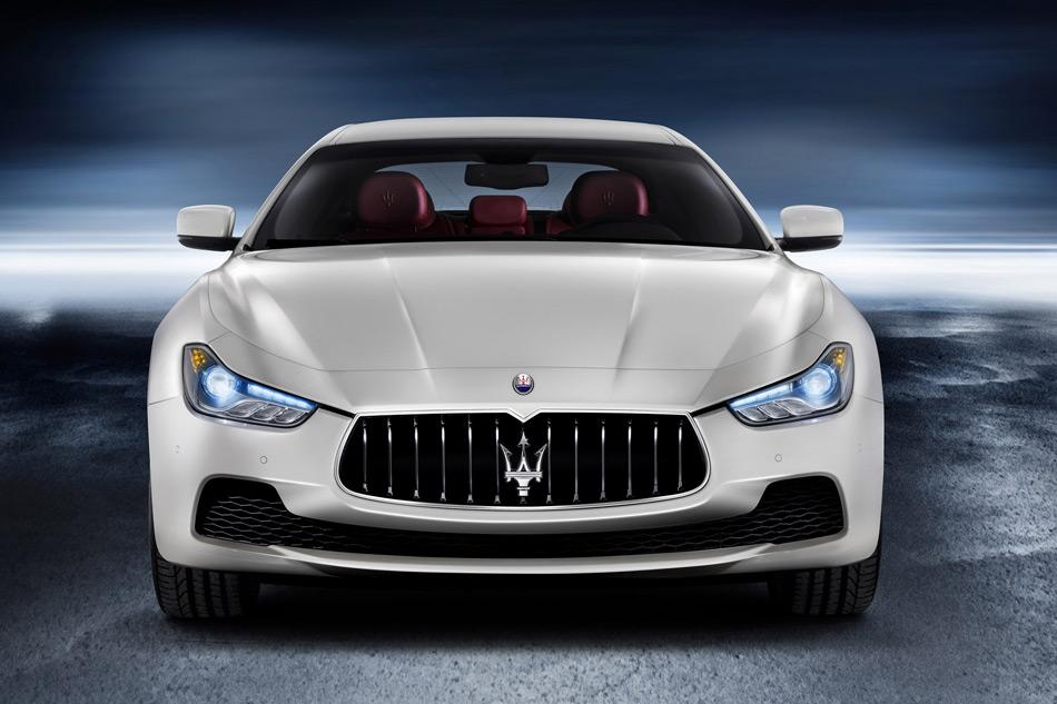 2013 Maserati Ghibli Front