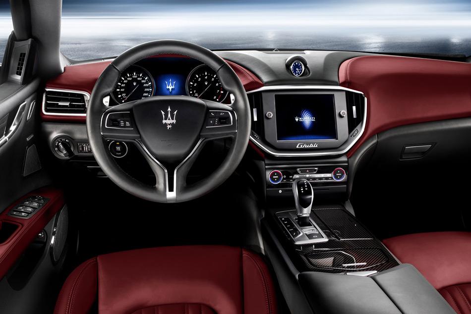 2013 Maserati Ghibli Interiort