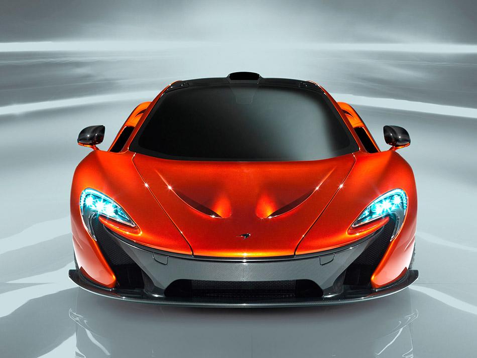 2013 McLaren P1 Front
